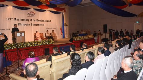Philippines Embassy celebrates 121st Independence Day - GNLM