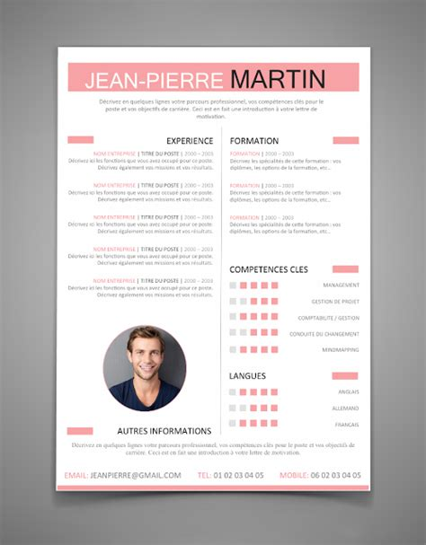 Modèle De Cv Word 2016 by The Best Resume Templates For 2016 2017 Word Stagepfe