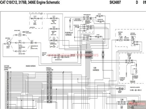 cat 3406e wiring diagram cooling fan wiring forums