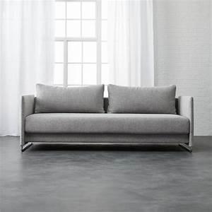 cb2 sofa bed flex orange sleeper sofa cb2 thesofa With cb2 sofa bed