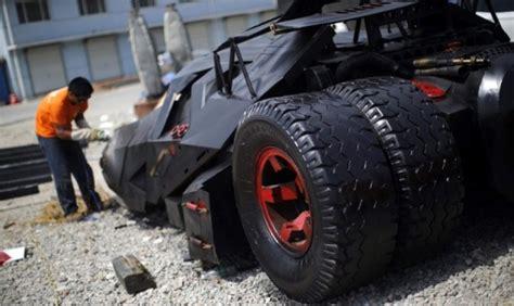 china guy builds   batmobile replica   scrap