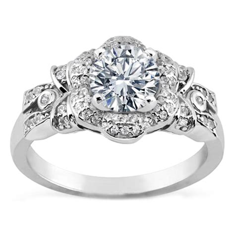 Floral  Engagement Rings From Mdc Diamonds Nyc. Cathy Waterman Rings. 3ct Diamond Rings. .5 Carat Wedding Rings. Gold Romania Wedding Rings. Matrix Rings. Nug Rings. One Tree Hill Brooke Rings. Shaving Wedding Rings