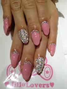 Diamond nail designs ideas stylish art blue nails