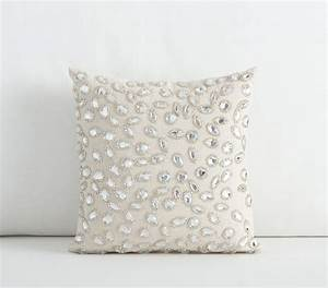 Mini embellished decorative pillows pottery barn kids for Embellished decorative pillows
