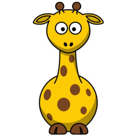 Stand Up Desk Reviews by Funny Spotted Cartoon Giraffe Kids Zazzle