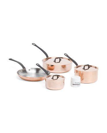 france pc ms copper cookware set cookware bakeware tjmaxx copper cookware