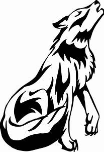 Black Wolf Drawing | Wolf Howl by ~PrincessSilverTiger on ...