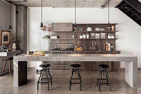concrete kitchen design 40แบบห องคร วสไตล ลอฟท design by paperroom 2426