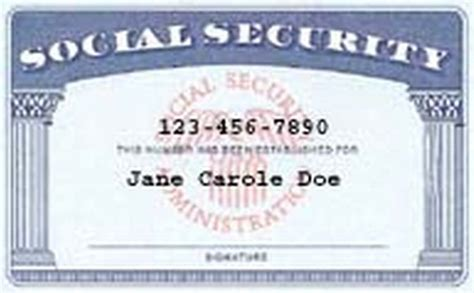 social security card template  shatterlioninfo