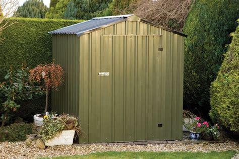 easy kit 4ft x 8ft galvanised steel shed 163 779 99