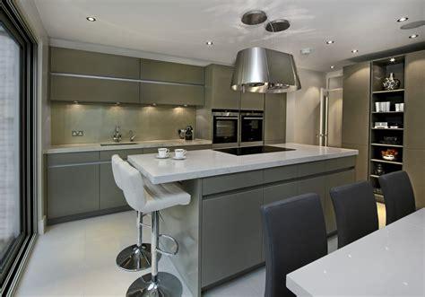 modern designer kitchen leicht kitchens designer showroom fulham elan 4197