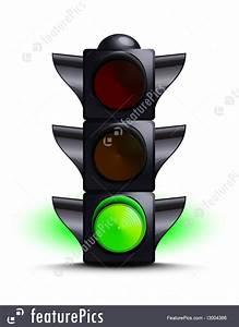Traffic  Traffic Light On Green