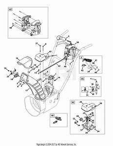 Troy Bilt 31ah64q4711 Storm 2840  2013  Parts Diagram For Extended Chute