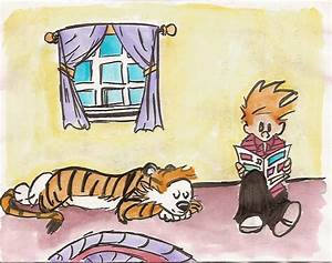 Calvin and Hobbes grown up by bluepenguine on DeviantArt