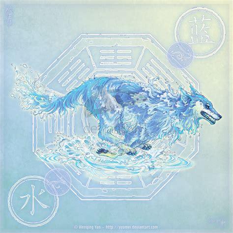 elemental wolves wolves fan art 23585244 fanpop