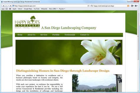 Home Design Websites 120409 Website Design Happy Roots Landscape Home Jpg