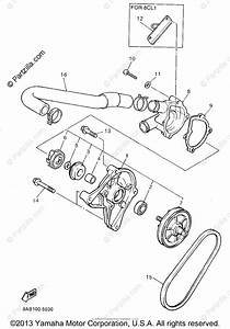 Yamaha Snowmobile 1995 Oem Parts Diagram For Water Pump
