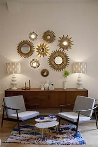 Miroir Deco Salon : 1001 id es pour l 39 ameublement avec le miroir sorci re ~ Melissatoandfro.com Idées de Décoration