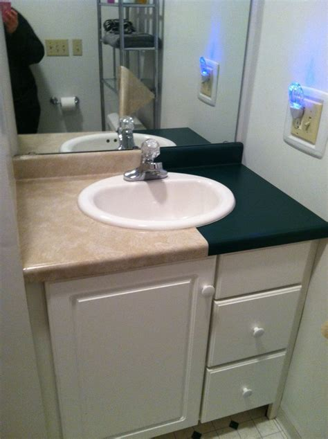 contact paper countertop bathroom countertops contact paper and the dollar