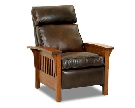 Mission Style Recliner Chair Amazing Leather With 5