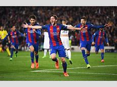 Barcelona pulls up stunning Champions League comeback