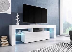 TV Board Lowboard Schrank Fernseherschrank Hochglanz Real