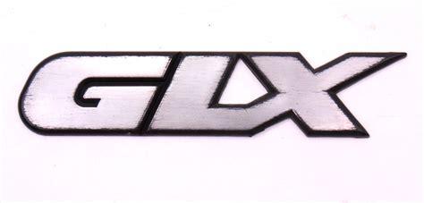 glx trunk emblem badge   vw jetta vr mk genuine hm