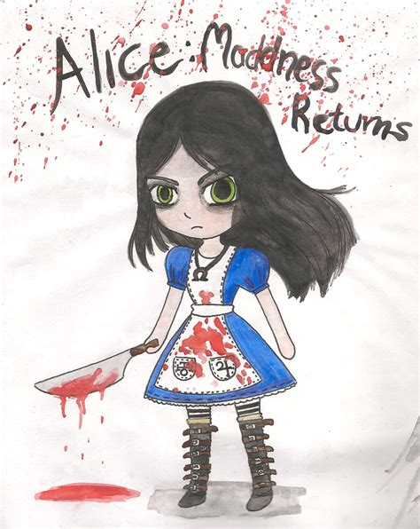 Alice Madness Returns Fan Art~ By Sapphiremiujewel On