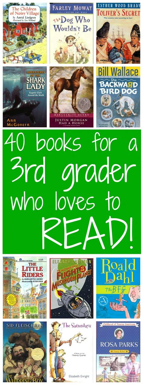 40+ Books For A 3rd Grader Who Loves To Read  Walking By The Way