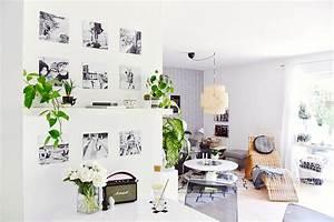 Cewe Alu Dibond : interior monochromatisches essecken makeover mit familien galerie in schwarz weiss ~ Orissabook.com Haus und Dekorationen