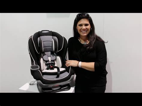 graco extendfit convertible car seat review youtube