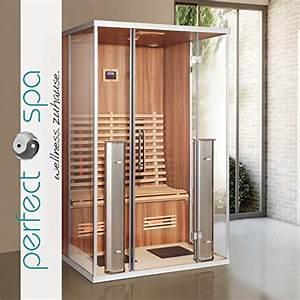Sauna Für 2 Personen : infrarotkabine athen infrarot sauna f r bis zu 2 personen w rmekabine infrarotsauna m bel24 ~ Orissabook.com Haus und Dekorationen