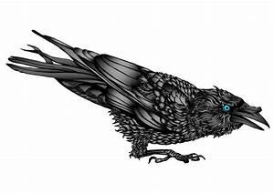 The 25 Best Celtic Raven Tattoo Ideas On Pinterest Viking Tattoos