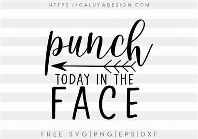 Svg Punch Face Today Dxf Eps Split