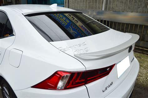 Unpainted For Lexus Is250 Is350 Is300h F-sport F-type Rear