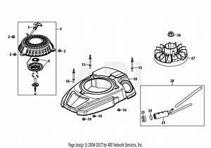 Mtd 5x65ru Engine Parts Diagram For 5x65ru Flywheel  U0026 Shroud
