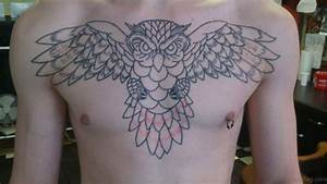 70 Outstanding Owl Tattoos For Chest