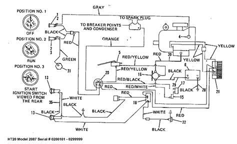 poulan mower wiring diagram lawn mower wiring
