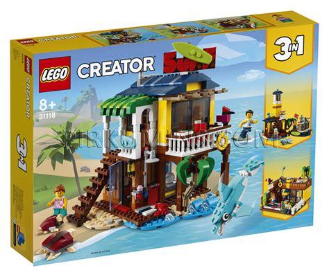 31118 LEGO® Creator Sērfotāju pludmales māja, no 8+ gadiem ...