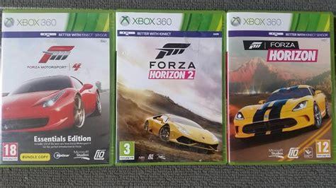 forza horizon 4 xbox 360 3 xbox 360 forza horizon 2 forza horizon forza motorsport 4 in bestwood nottinghamshire