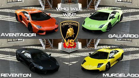 lamborghini reventon roadster vs aventador forza 5 lamborghini aventador vs gallardo vs murcielago vs reventon gameplay youtube