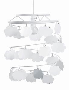 Suspension Chambre Bébé : luminaire suspension nuage chambre d co b b la chambre ~ Voncanada.com Idées de Décoration
