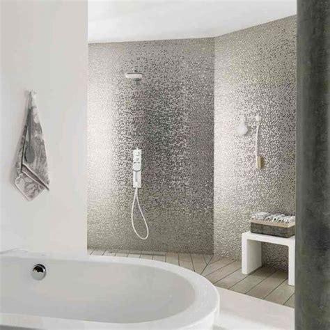 madison earp bros silver tiles  splashback  bathroom