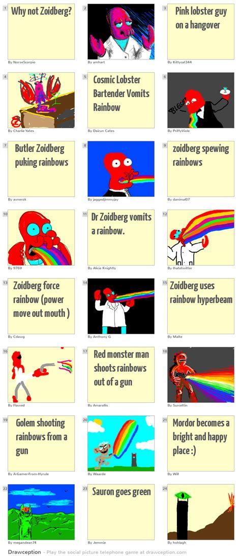 Why not Zoidberg? - Drawception