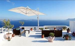 Sonnenschirme Gastronomie 5x5m : sonnenschirm scolaro galileo white 3x4 ampelschirm aluminium hanging parasol vom ~ Yasmunasinghe.com Haus und Dekorationen