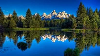Lake Mountain Nature Desktop Wallpapers Wallpapersafari Code