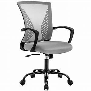 Office, Chair, Ergonomic, Desk, Chair, Mesh, Computer, Chair, With, Lumbar, Support, Armrest, Mid, Back