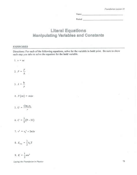Subtracting Linear Equations Worksheets  Solving Linear Equations Worksheet Ks3 Tes