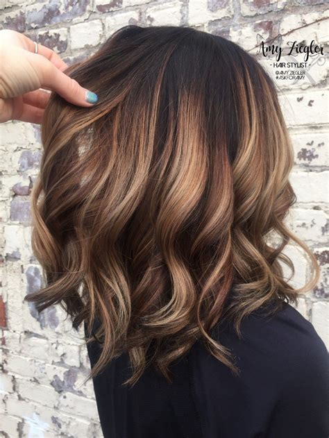 hair colors for brunettes top hair color ideas to try 2017 7