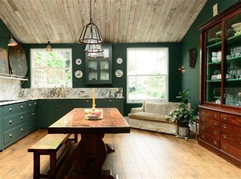 farrow ball studio green park  oak interior design